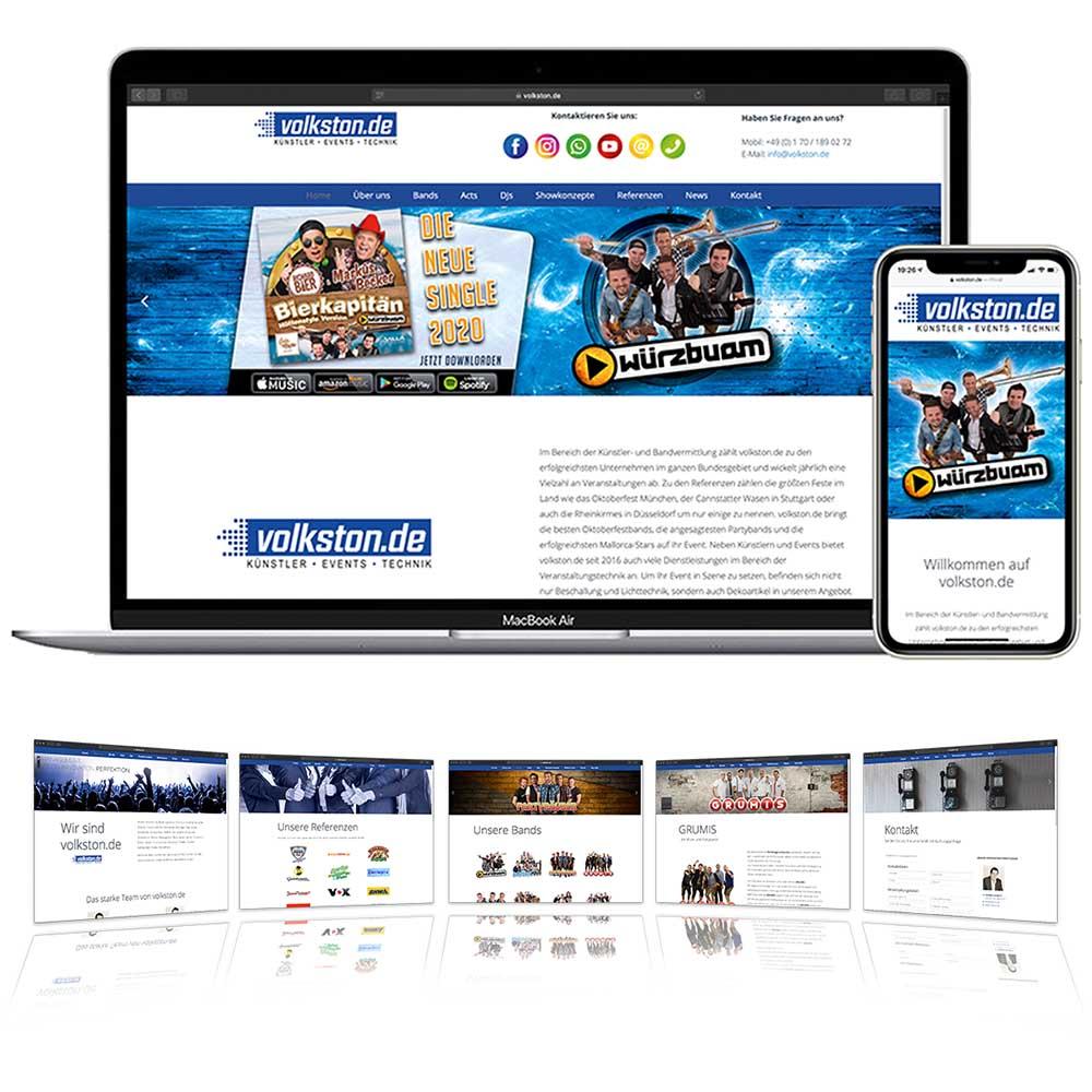 Webseite volkston.de